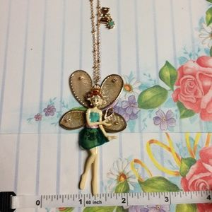 "Betsey Johnson ""Fairyland"" Fairy Elf Necklace"